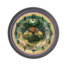 Faun and Fairy Wall Clock