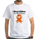 Kidney cancer for my dad Mens White T-shirts