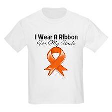 Orange Ribbon - Uncle T-Shirt
