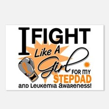 Fight Like a Girl Leukemia Postcards (Package of 8