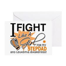 Fight Like a Girl Leukemia Greeting Card