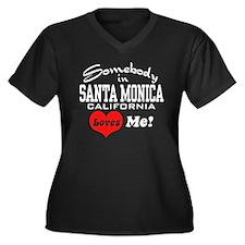 Somebody In Santa Monica Loves Me Women's Plus Siz