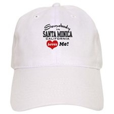 Somebody In Santa Monica Loves Me Baseball Cap