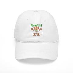 Little Monkey Nicholas Baseball Cap