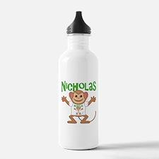 Little Monkey Nicholas Water Bottle