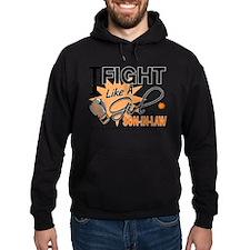 Fight Like a Girl Leukemia Hoodie