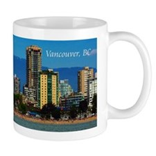 Vancouver, British Columbia Small Mugs
