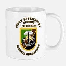 SOF - 528th Sustainment Brigade SO Abn - Flash Mug