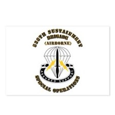 SOF - 528th Sustainment Brigade SO Abn - DUI Postc