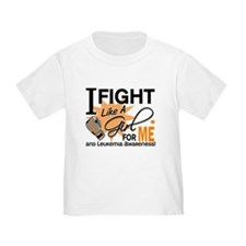 Fight Like a Girl Leukemia T