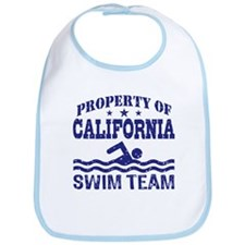 Property of California Swim Team Bib