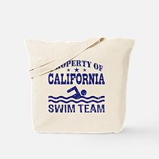 Property of California Swim Team Tote Bag