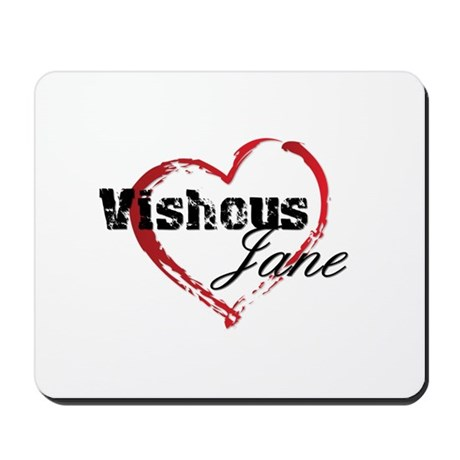 Abstract Heart Mousepad - Vishous and Jane