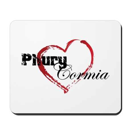 Abstract Heart Mousepad - Phury and Cormia
