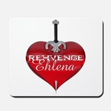 Classic Heart Mousepad - Rehvenge and Ehlena