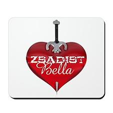 Classic Heart Mousepad - Zsadist and Bella