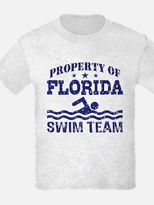 Property of Florida Swim Team T-Shirt
