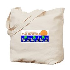 Cute Santa barbara california Tote Bag