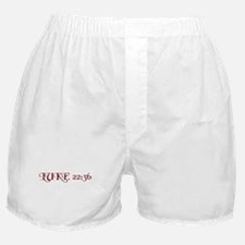 """Luke 22:36 """"Sell your cloak and buy a sword"""" Boxer"""