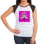 Beauty Women's Cap Sleeve T-Shirt
