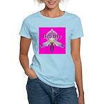 Beauty Women's Pink T-Shirt