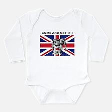 British Bulldog Long Sleeve Infant Bodysuit
