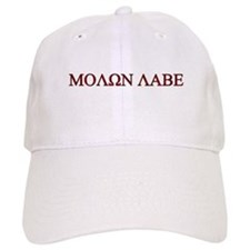 """Molon Labe (""""Come take them"""") Baseball Cap"""
