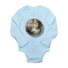 Culture of Germany Soccer Bal Long Sleeve Infant B