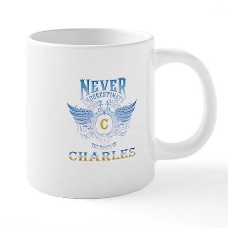 Never underestimate the pow 20 oz Ceramic Mega Mug