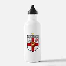 England Soccer Shield Water Bottle