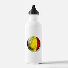 Belgian Football Water Bottle
