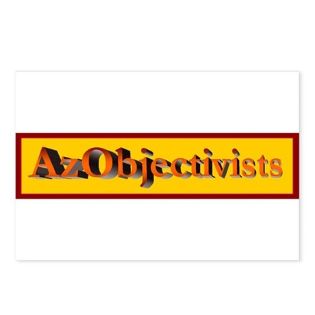 AzObjectivists Postcards (Package of 8)