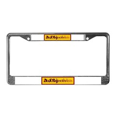 AzObjectivists License Plate Frame