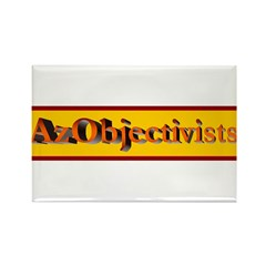 AzObjectivists Rectangle Magnet (100 pack)