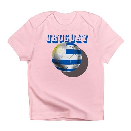 Uruguay Soccer Ball Infant T-Shirt