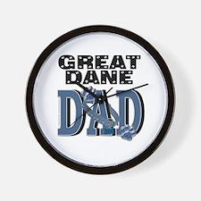Great Dane DAD Wall Clock