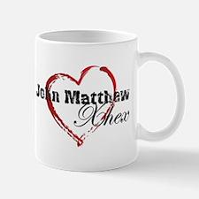 Abstract Heart Mug - John Matthew and Xhex