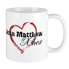Abstract Heart Mug - John Matthew and Xhex