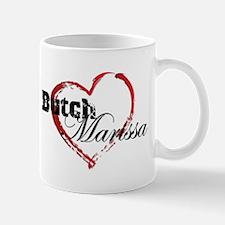 Abstract Heart Mug - Butch and Marissa