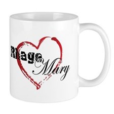 Abstract Heart Mug - Rhage and Mary