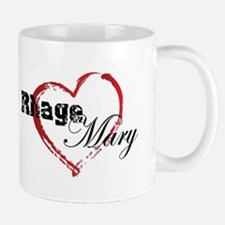 Abstract Heart Mug - Rhage and Mary