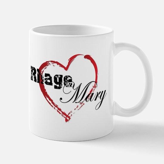 Abstract Heart Mug - Rhage And Mary Mugs
