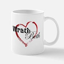 Abstract Heart Mug - Wrath and Beth