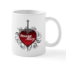 Tribal Heart Mug - Rhage and Mary
