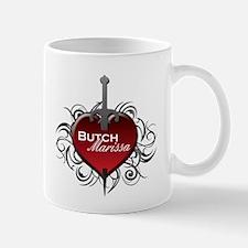 Tribal Heart Mug - Butch and Marissa