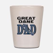 Great Dane DAD Shot Glass