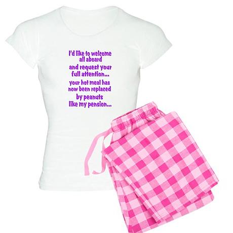 attention purple Women's Light Pajamas