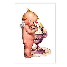 Kewpie Loves Ice Cream Postcards (Package of 8)