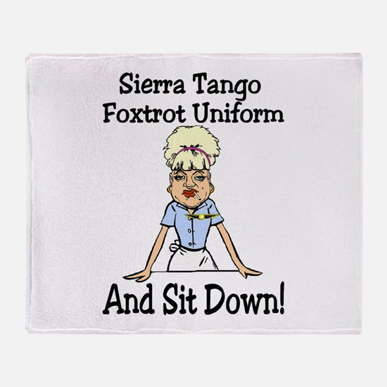 STFU! Throw Blanket