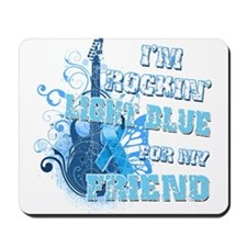 I'm Rockin' Light Blue for my Mousepad